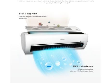 Gezonde frisse lucht met een Samsung single split warmtepomp airco