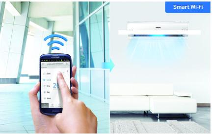 Smart home bedieningsgemak met wifi bediening
