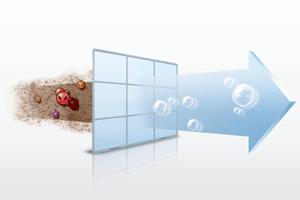 gezonde frisse lucht met een warmtepomp airco