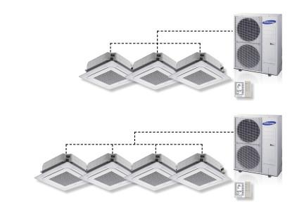 Effectievere luchtverdeling Samsung warmtepomp airco