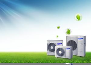 Energie-efficiente werking van een Samsung DVM vrf mini airco
