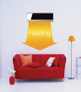 verwarmen met een lucht warmtepomp