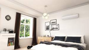 koelen van de slaapkamer met een airco