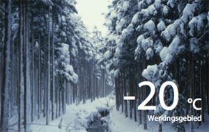 hoge rendementen met een lucht warmtepomp bij lage buitentemperaturen