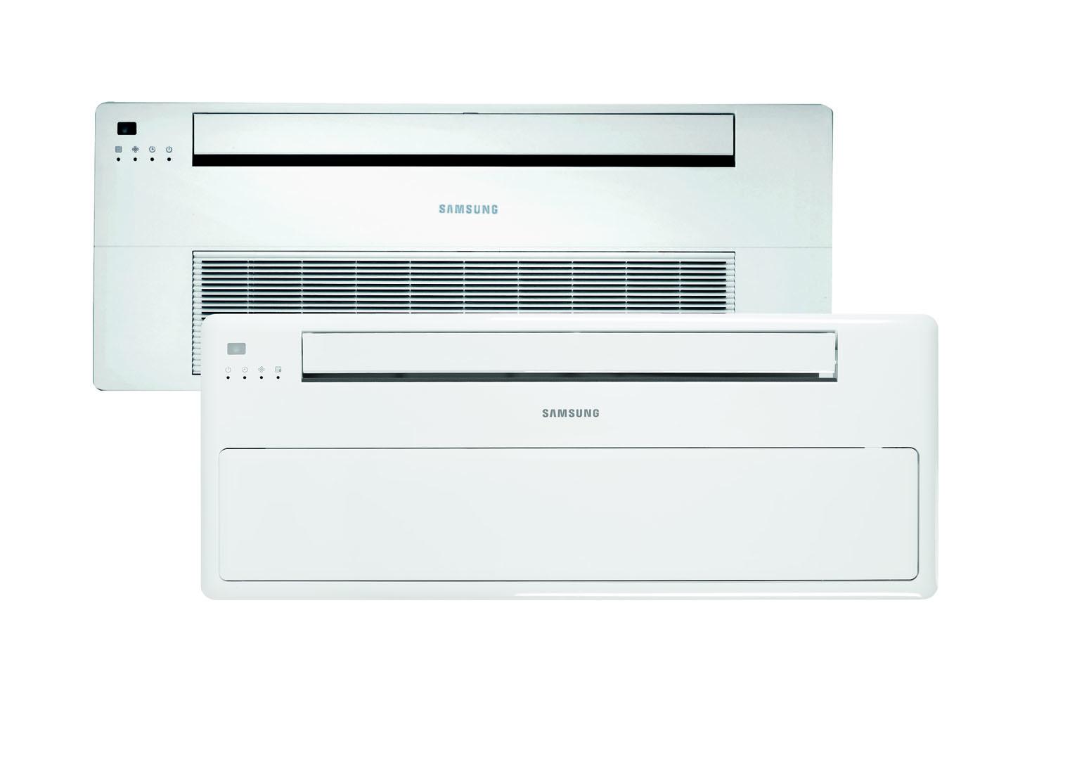 Samsung 1-weg cassette warmtepomp airco voor koelen en verwarmen