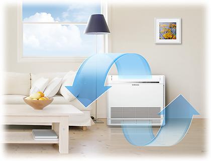 Comfortabel binnenklimaat met een Samsung warmtepomp airconditioning