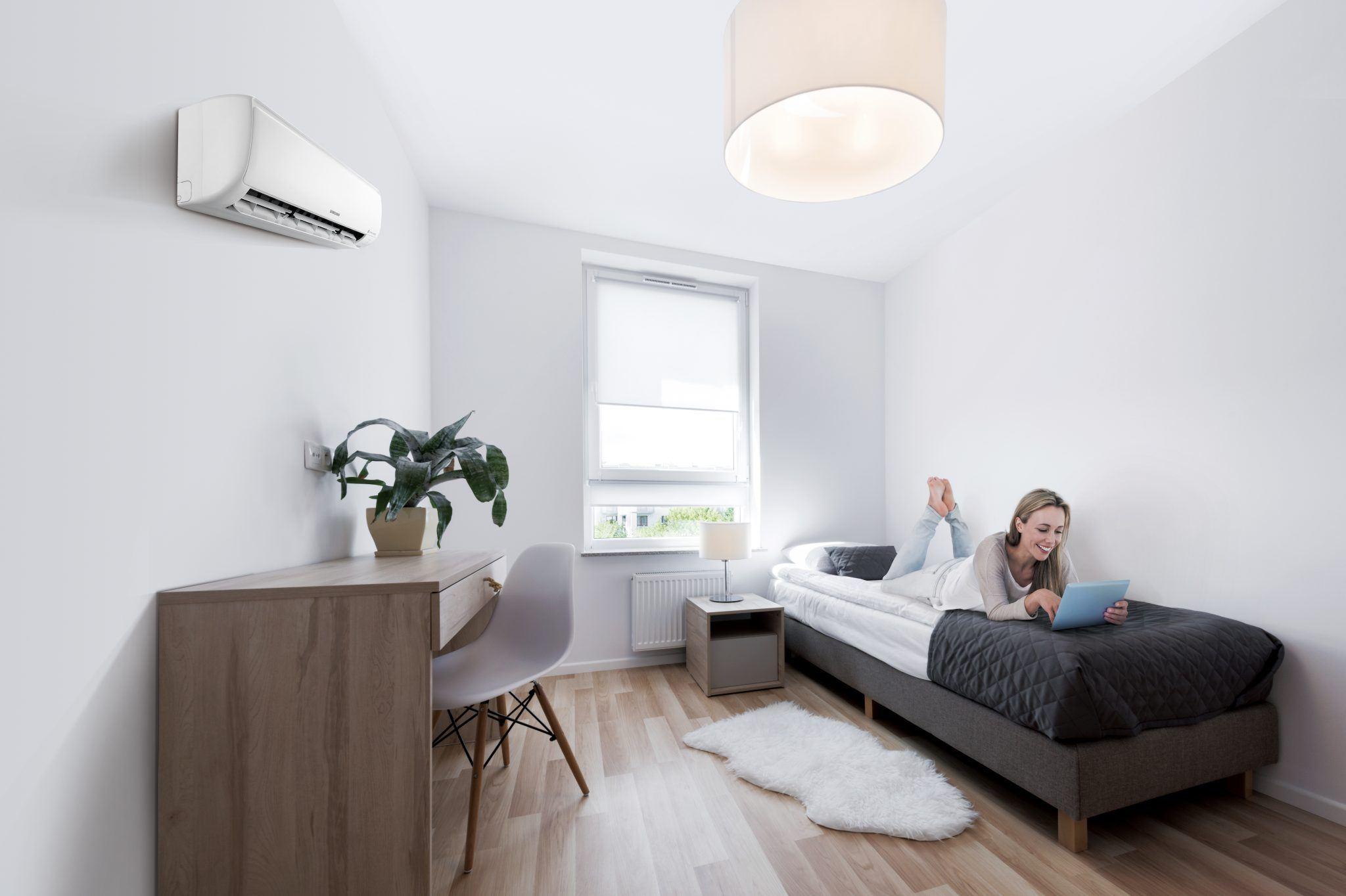Samsung ambrava Maldives airconditioner slaapkamer