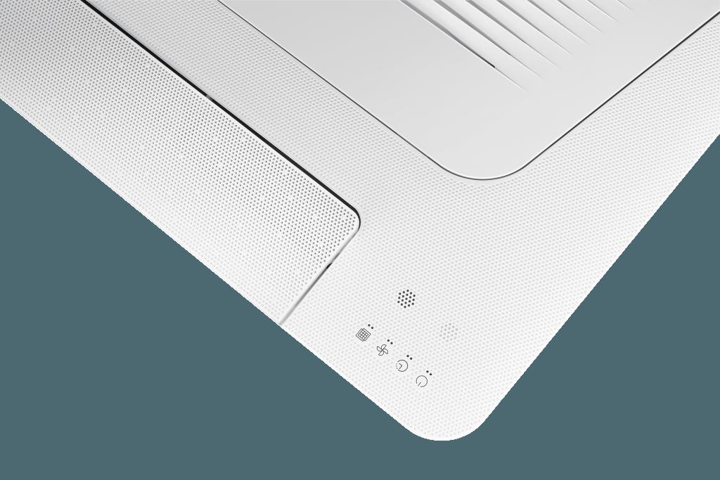 Samsung 1 weg cassette plafond airconditioning detail