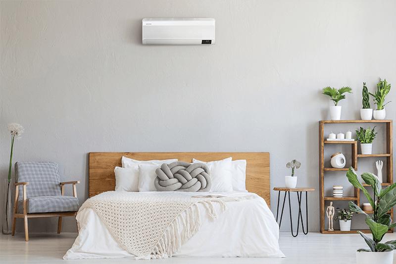 Samsung WInd Free elite airco slaapkamer